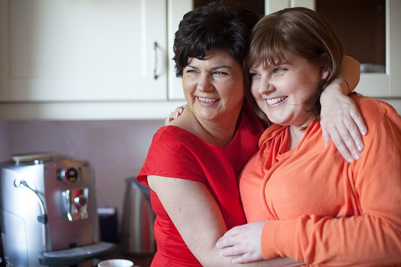 Nutricia Consumer Kasia Leszek and her mother
