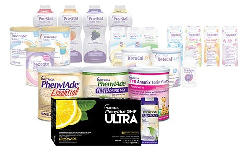 Nutricia Metabolics product line