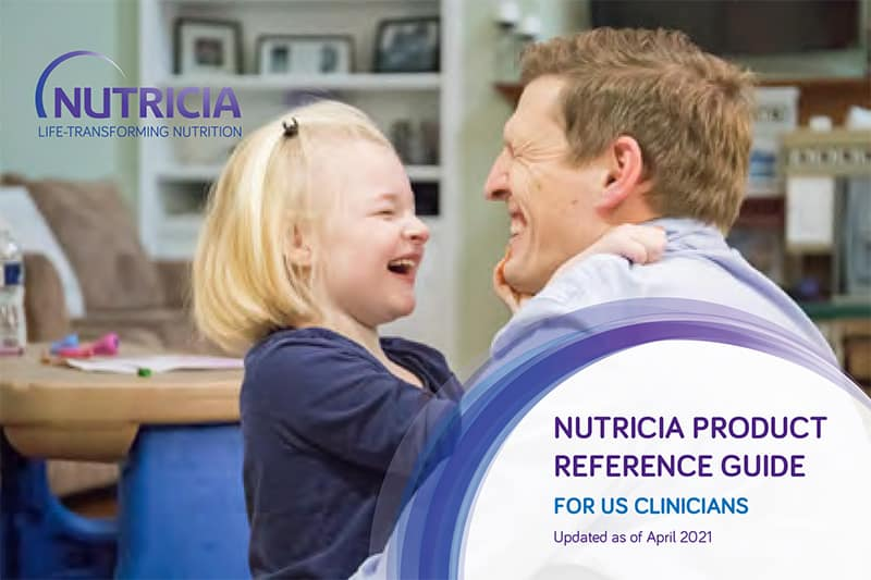 Nutricia Product Reference Guide for US Clinicians